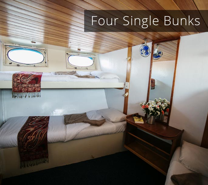 FourSingleBunks